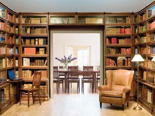 Библиотеки из массива - заказать изготовление библиотеки из .