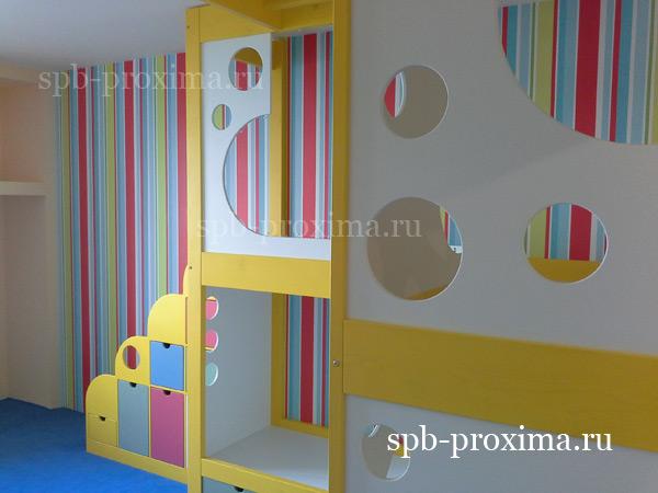 """Проксима"""" выполнила оригинальный комплект мебели для детской."""