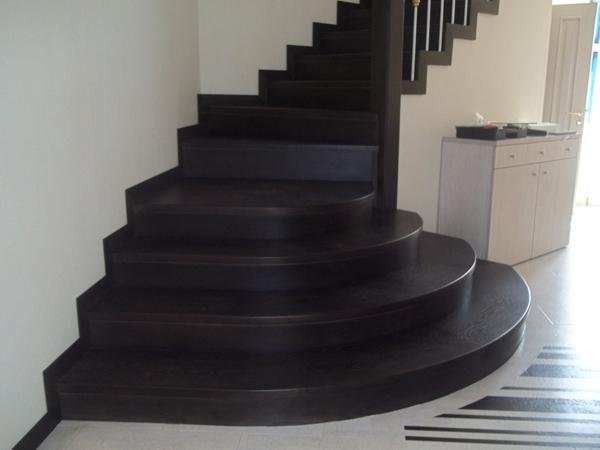 """Лестница - изготовление лестницы на заказ, портфолио столярной мастерской """"Проксима"""""""