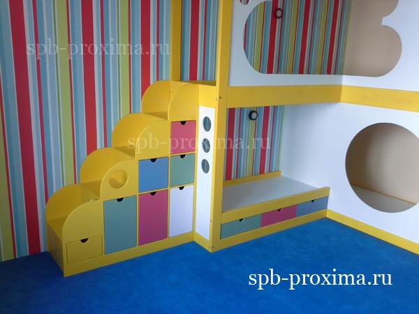 Мебель для детской комнаты - индивидуальная мебель из дерева.